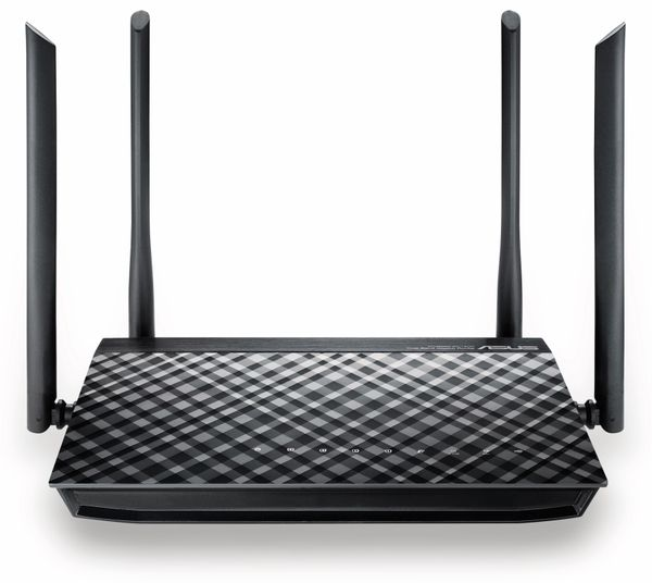 WLAN-Router ASUS RT-AC1200G+, Dual-Band