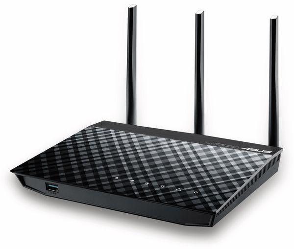 WLAN-Router ASUS RT-N18U, 2,4 GHz - Produktbild 2