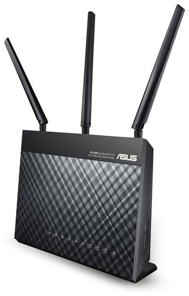 WLAN-Router ASUS DSL-AC68U, VDSL/ADSL - Produktbild 1