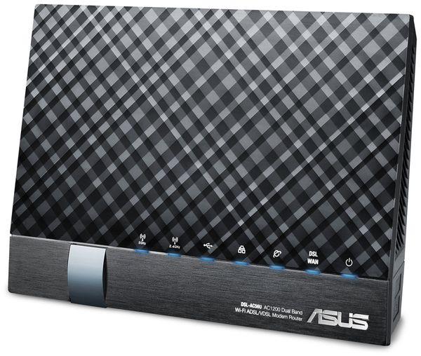 WLAN-Router ASUS DSL-AC56U, ADSL/VDSL, Dual-Band