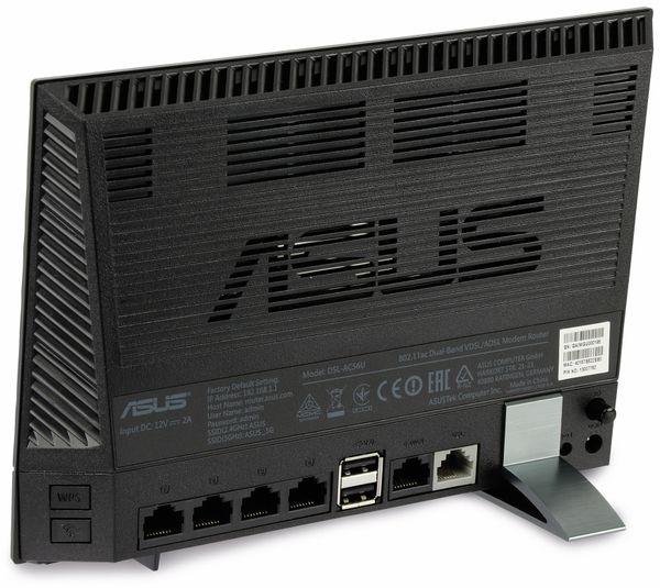 WLAN-Router ASUS DSL-AC56U, ADSL/VDSL, Dual-Band - Produktbild 5
