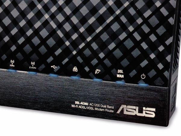 WLAN-Router ASUS DSL-AC56U, ADSL/VDSL, Dual-Band - Produktbild 8