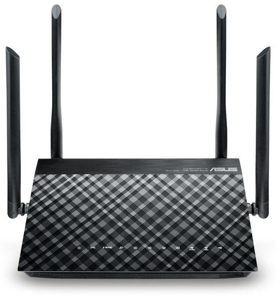 WLAN-Router ASUS DSL-AC52U, VDSL/ADSL, Dual-Band - Produktbild 2
