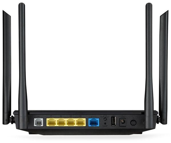 WLAN-Router ASUS DSL-AC52U, VDSL/ADSL, Dual-Band - Produktbild 3