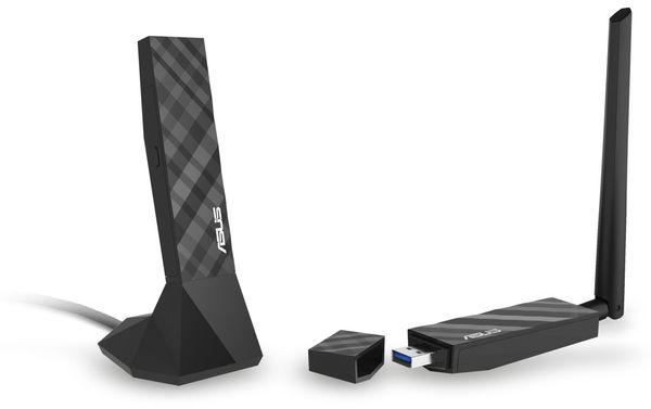 WLAN USB-Stick ASUS USB-AC56, Dual-Band - Produktbild 7