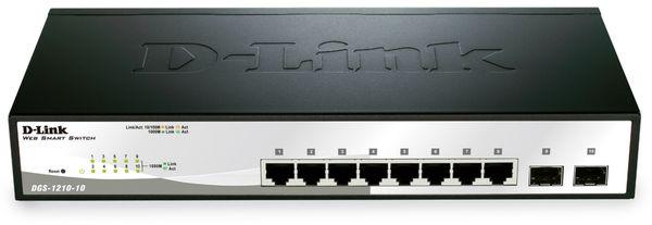 Gigabit Netzwerk-Switch D-LINK DGS 1210-10, 8x LAN + 2x SFP - Produktbild 1