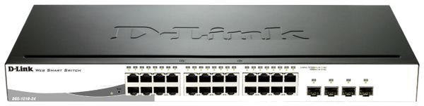 Gigabit Netzwerk-Switch D-LINK DGS-1210-24, 24-port - Produktbild 1