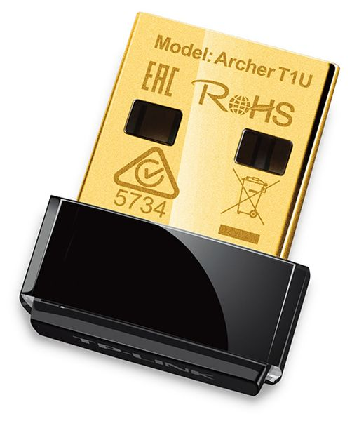 USB-Netzwerkadapter TP-LINK Archer T1U, 5 GHz, 433 MBit/s, Nano - Produktbild 1