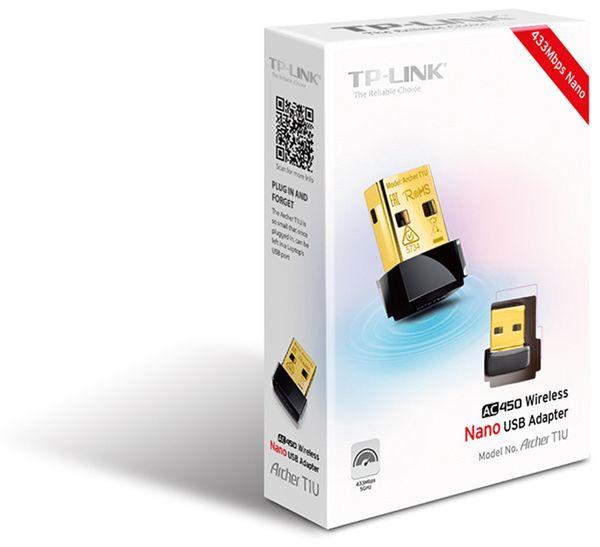 USB-Netzwerkadapter TP-LINK Archer T1U, 5 GHz, 433 MBit/s, Nano - Produktbild 2