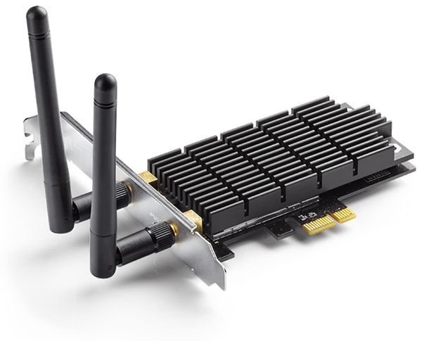PCIe-Netzwerkkarte TP-LINK Archer T6E, 2,4/5 GHz, 1300 MBit/s - Produktbild 2