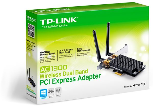PCIe-Netzwerkkarte TP-LINK Archer T6E, 2,4/5 GHz, 1300 MBit/s - Produktbild 3