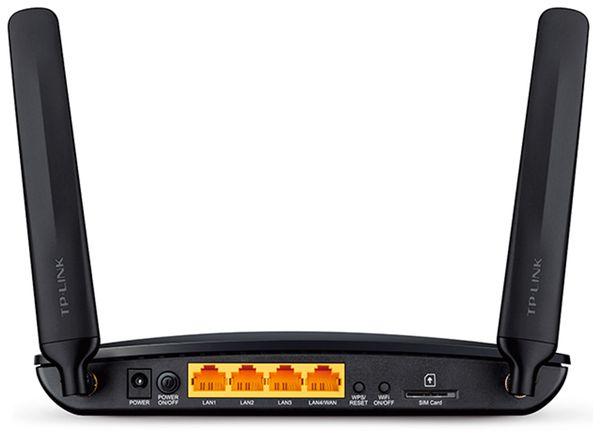 WLAN-Router TP-LINK Archer MR200, 3G/4G, 4x RJ-45 - Produktbild 2