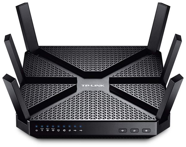 WLAN-Router TP-LINK Archer AC3200, Triband - Produktbild 1