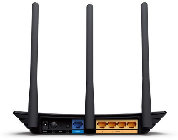 WLAN-Router TP-LINK TL-WR940N, 2,4 GHz, 300 MBit/s - Produktbild 2