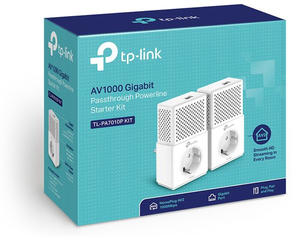 Powerline-Set TP-LINK TL-PA7010P - Produktbild 2