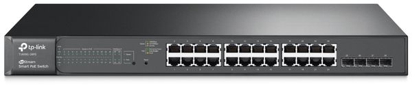 Switch TP-LINK T1600G-28PS (TL-SG2424P), 24-port, Gigabit