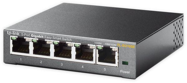 Switch TP-LINK TL-SG105E, 5-port, Gigabit - Produktbild 3