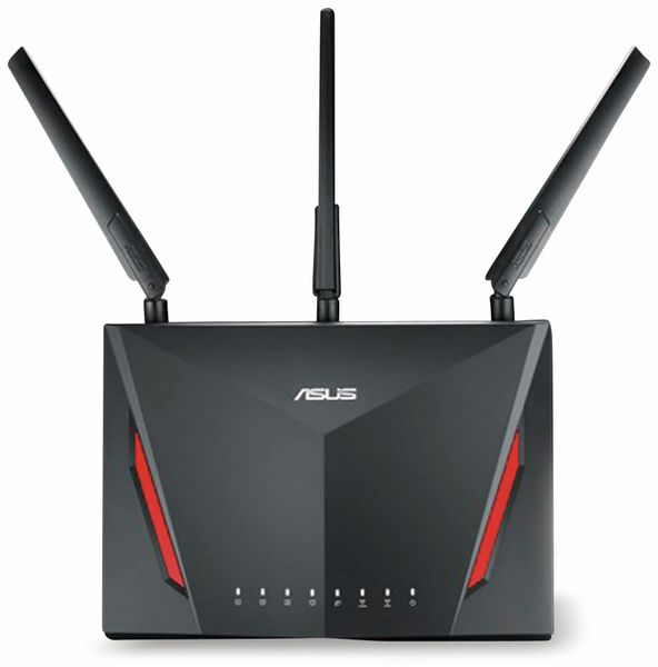 WLAN-Router ASUS RT-AC86U, 2917 MBit/s, 2,4/5 GHz, MU-MIMO