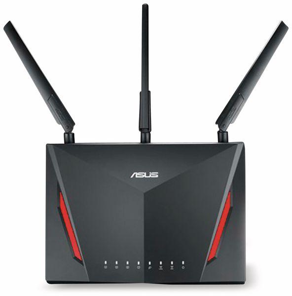WLAN-Router ASUS RT-AC86U, 2917 MBit/s, 2,4/5 GHz, MU-MIMO - Produktbild 1