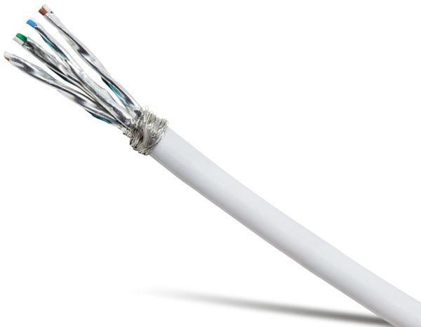 CAT.7 Netzwerkkabel LOGILINK CPV0041, 100 m, weiß - Produktbild 1