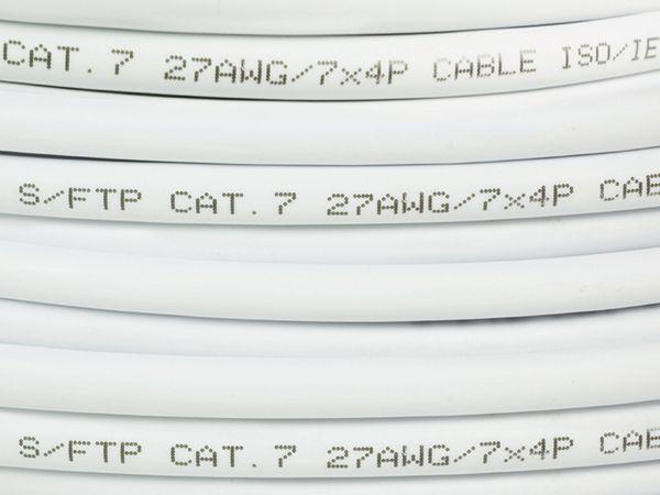 CAT.7 Netzwerkkabel LOGILINK CPV0042, 305 m, weiß - Produktbild 3