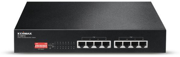 PoE Netzwerk-Switch EDIMAX ES-1008P V2, Fast Ethernet, 8-port, 130 Watt - Produktbild 3