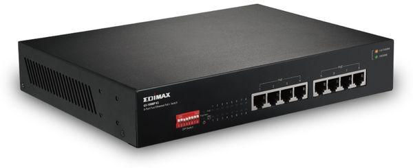 PoE Netzwerk-Switch EDIMAX GS-1008P V2, Gigabit, 8-Port, 130 Watt