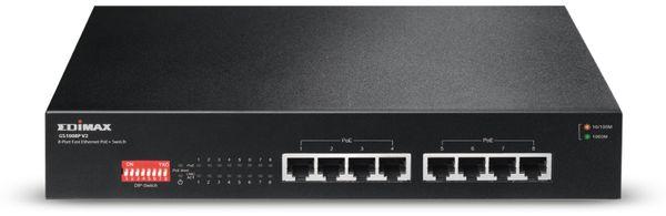 PoE Netzwerk-Switch EDIMAX GS-1008P V2, Gigabit, 8-Port, 130 Watt - Produktbild 3