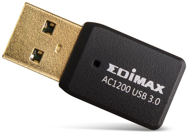 WLAN USB-Stick EDIMAX EW-7822 UTC, AC1200, 2,4/5 GHz, MU-MIMO - Produktbild 2