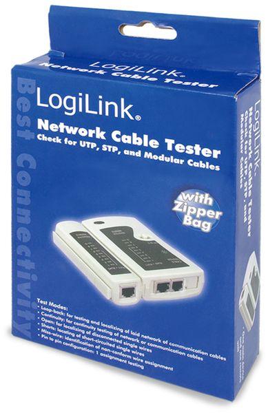 Netzwerk-Kabeltester LOGILINK WZ0010 - Produktbild 3