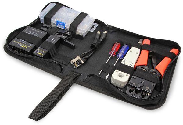 Netzwerk Werkzeug-Set LOGILINK WZ0030 - Produktbild 1