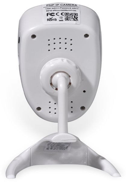 IP-WLAN Kamera DENVER IPC-1020, weiß, 1280x720, 1 MP - Produktbild 3