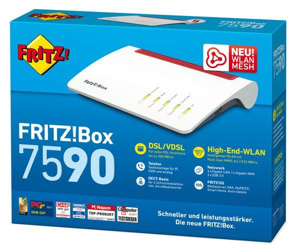 WLAN-Router AVM FRITZ!Box 7590 - Produktbild 3