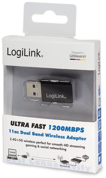 WLAN USB-Stick LOGILINK WL0243, 1200 MBit/s, 2,4/5 GHz - Produktbild 3