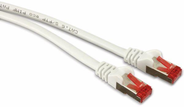 Netzwerkpatchkabel CAT.6 , RJ45, 1:1, 2,9 m, grau