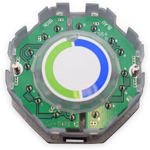CAT.6a Datendose KOMOS KDD 500, EA 8/8 (8), Komplett mit Zentralscheibe, reinweiß - Produktbild 8