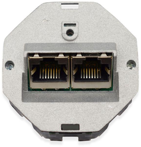 CAT.6a Datendose KOMOS KDD 500, EA 8/8 (8), Aufputz, perlweiß - Produktbild 6
