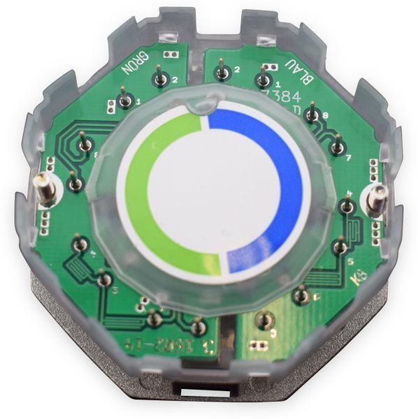 Einsatz für Datendose KOMOS 500, 8(4), CAT.3, 4x RJ-45 - Produktbild 2