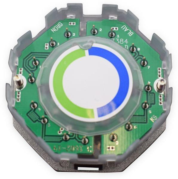Einsatz für Datendose KOMOS 500, CAT.6a 8(8), 2x CAT.3 8(4) - Produktbild 2