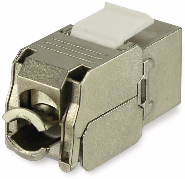 Einbau-Modul RED4POWER DM2023-1, CAT.6a, LED, Metall - Produktbild 2