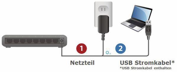 Desktop Switch EDIMAX ES-5800G V3, Gigabit, 8-port - Produktbild 6