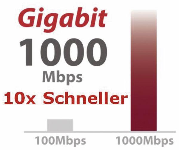 Desktop Switch EDIMAX ES-5800G V3, Gigabit, 8-port - Produktbild 10