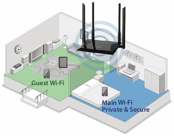 WLAN-Router EDIMAX BR-6476AC, AC1200, Dual-Band - Produktbild 3