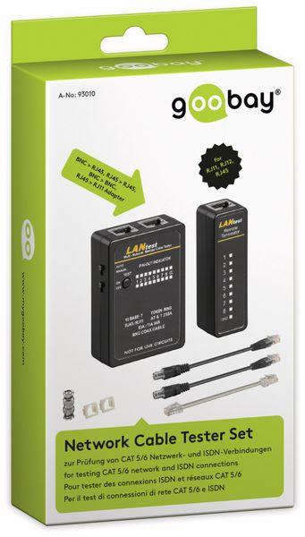 Netzwerk-Kabeltesterset GOOBAY 93010, CAT.5/6, ISDN, BNC - Produktbild 3