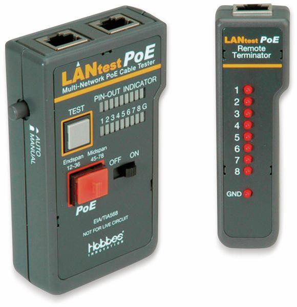 Netzwerktester HOBBES LANtest, Multi-Netzwerk PoE
