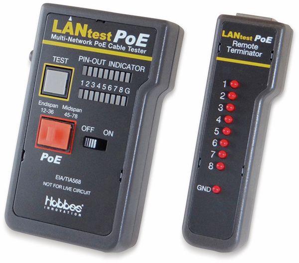 Netzwerktester HOBBES LANtest, Multi-Netzwerk PoE - Produktbild 6