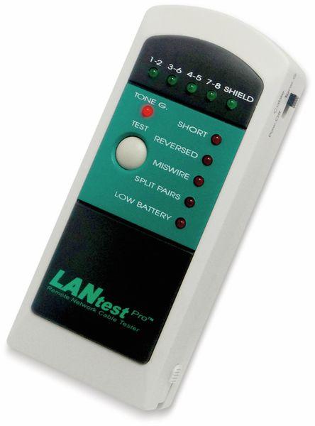 Netzwerk-Kabeltester HOBBES LANtest, Pro Kit, 4 Remote Einheiten