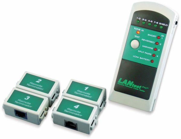 Netzwerk-Kabeltester HOBBES LANtest, Pro Kit, 4 Remote Einheiten - Produktbild 3