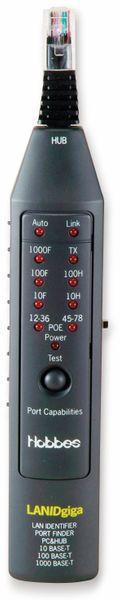 Netzwerktester HOBBES LAN ID Giga, Link/PoE-Test, Port -Finder - Produktbild 2