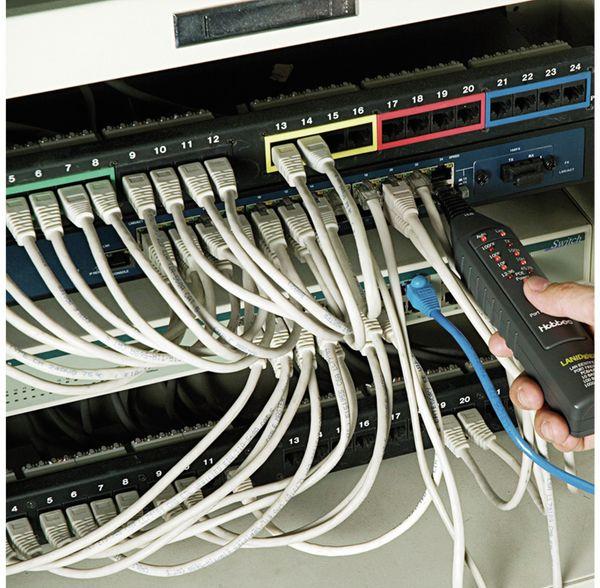 Netzwerktester HOBBES LAN ID Giga, Link/PoE-Test, Port -Finder - Produktbild 3